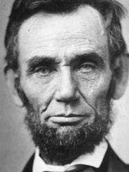Abraham Lincoln, is shown in this  November 8, 1863