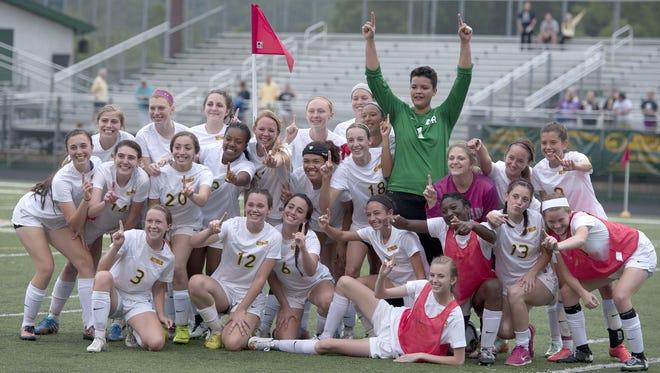 The Reynolds girls soccer team won the 3-A Western Regional championship on Tuesday night.
