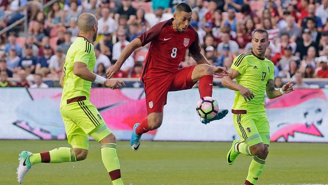 Clint Dempsey is looking to tie Landon Donovan for the most career goals with the U.S. men's national team.