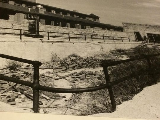 This outdoor pool was destroyed in 1935 at the Peace Valley Hot Springs outside of Boulder.