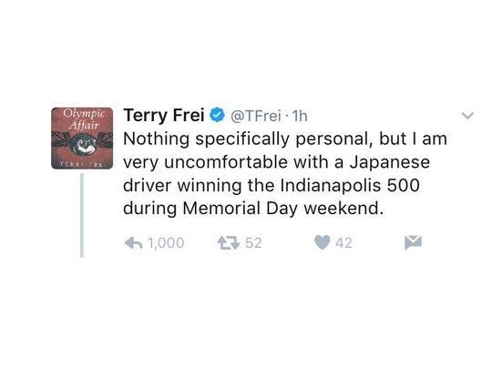Terry Frei tweet.