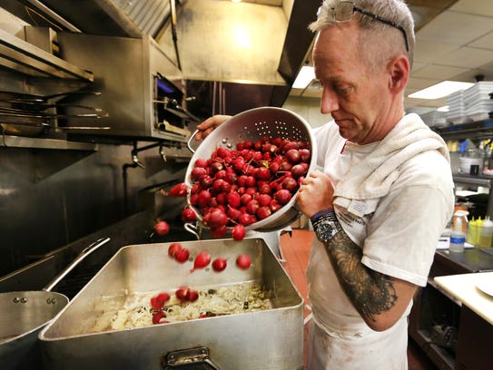 Jimmy Gibson, executive chef and co-owner of Jimmy