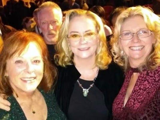 Delana Michaels, Cybil Shepherd and Mary Maxson