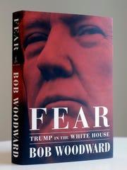 Portada del libro 'Fear' de Bob Woodward.