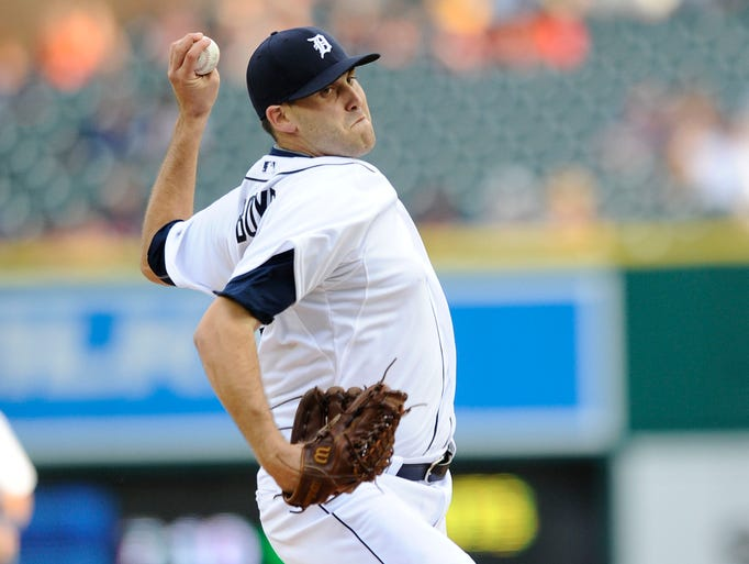Starting pitcher Matt Boyd makes his debut with the