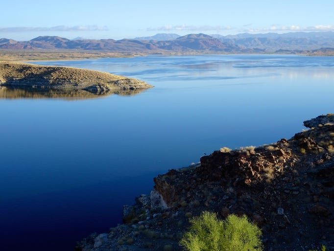 Alamo Lake is one of the state's primo fishing holes