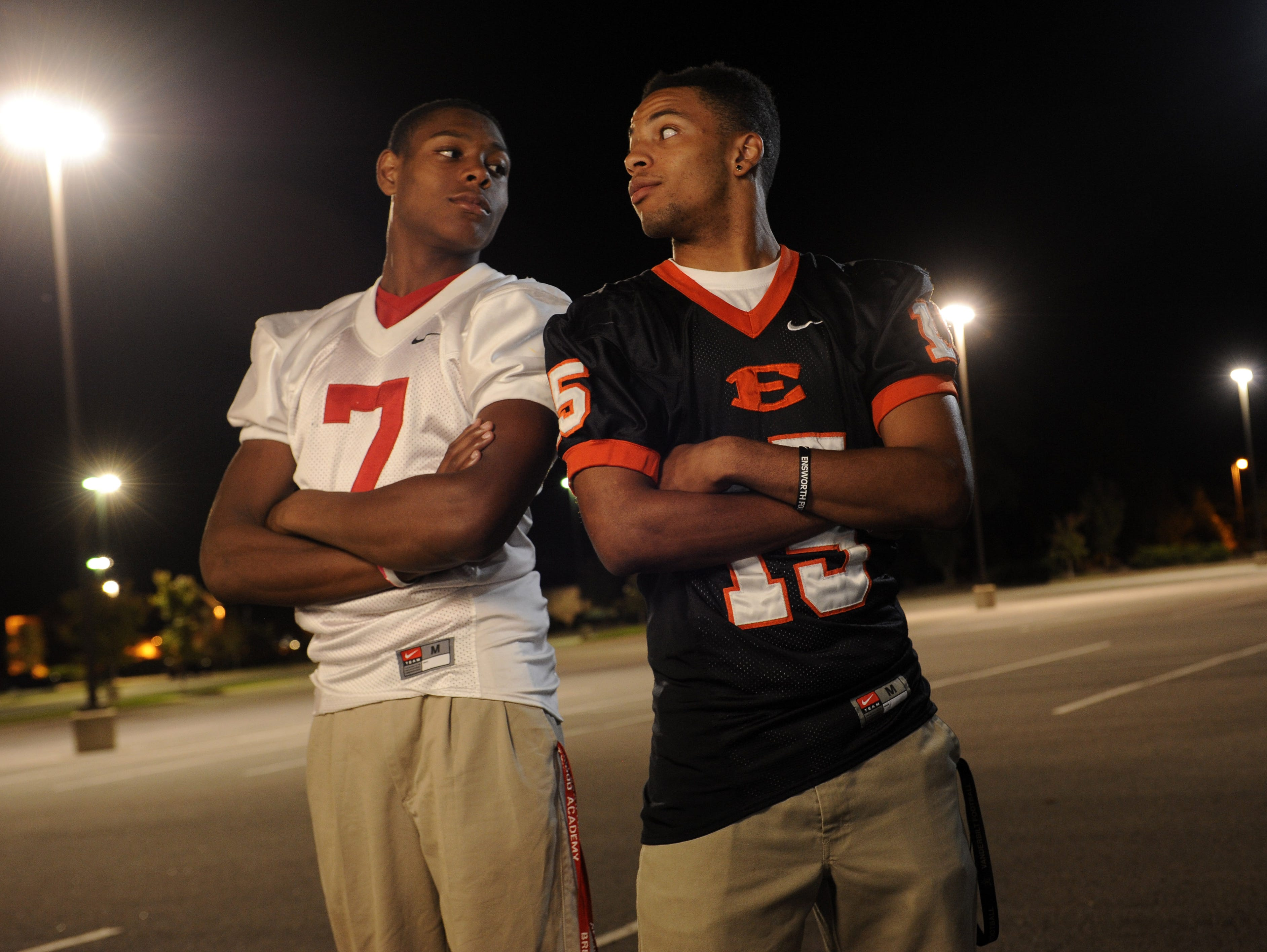 Brentwood Academy graduate Jalen Ramsey (left) and Ensworth graduate Corn Elder (right) both play defensive back for ACC schools.