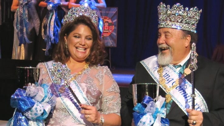 Krewe Gemini Royalty Coronation XXX was Aug. 18 at