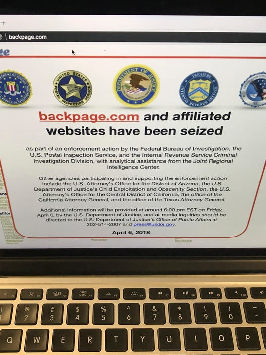 AP BACKPAGE-SEIZURE A F USA CA