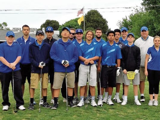 Photo courtesy of Jeff Keller The Carlsbad boys and girls JV golf teams wrapped up the 2015 season Thursday at Lake Carlsbad Municipal Golf Course.
