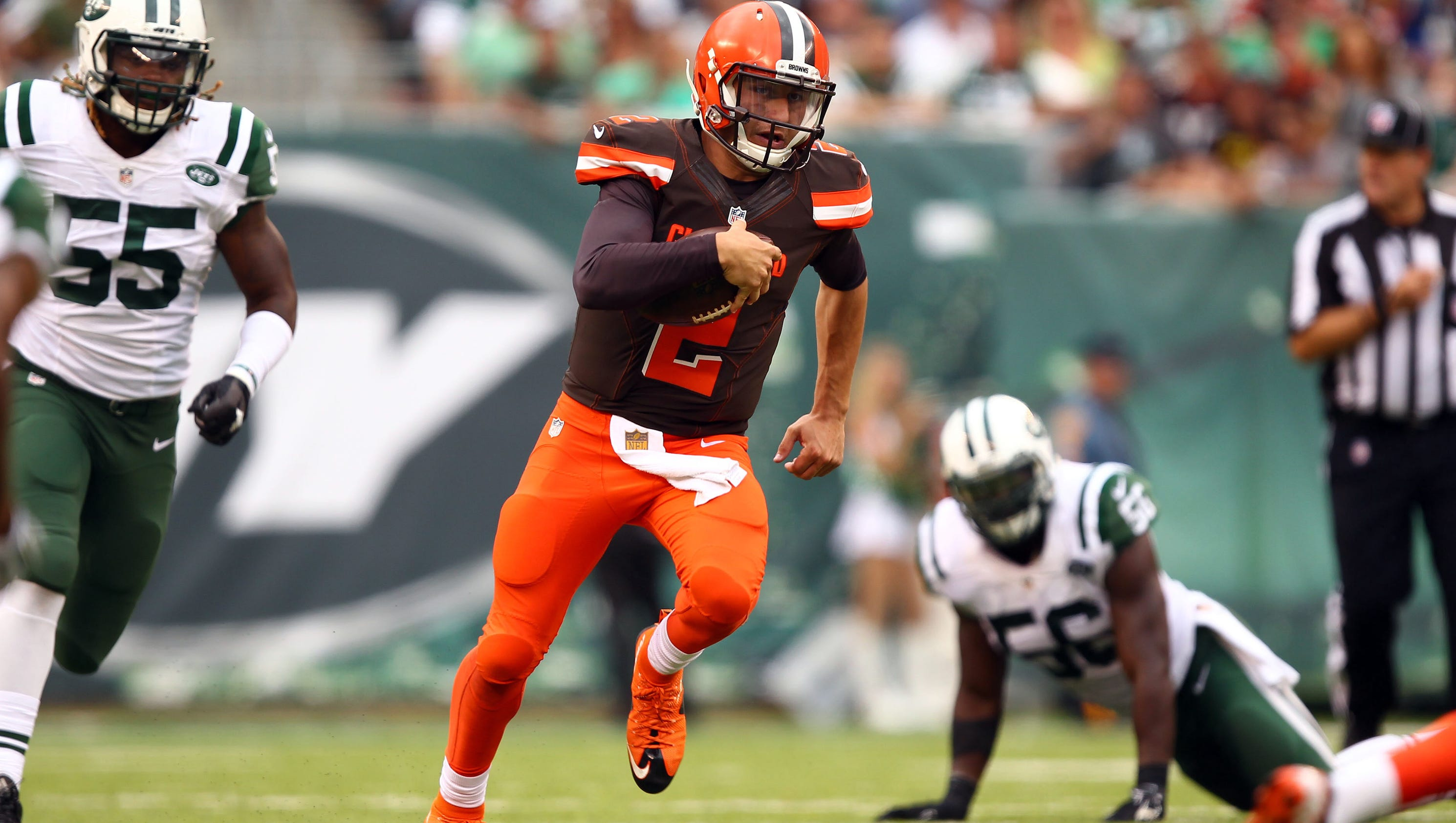 Mike Pettine Denies Reports Johnny Manziel Named Browns