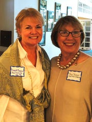 Elizabeth Thomason, of Boys and Girls Clubs of Indian River County, with Mary Skinner-Weiss, a Head, Heart and Hands grant committee member.