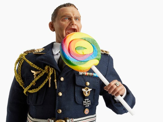 """Jim Riswold (American, b. 1957), """"Göring's Lollipop,"""" 2014-15, color digital print, 40 x 60 inches, courtesy of the artist and Augen Gallery, Portland. The Hallie Ford Museum of Art is hosting """"Jim Riswold: Undignified,"""" an exhibit on display fromJune 2 through Aug. 26"""