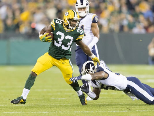 NFL: Los Angeles Rams at Green Bay Packers