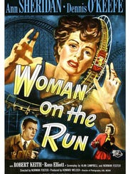 """Woman on the Run"" is among the films being shown this"
