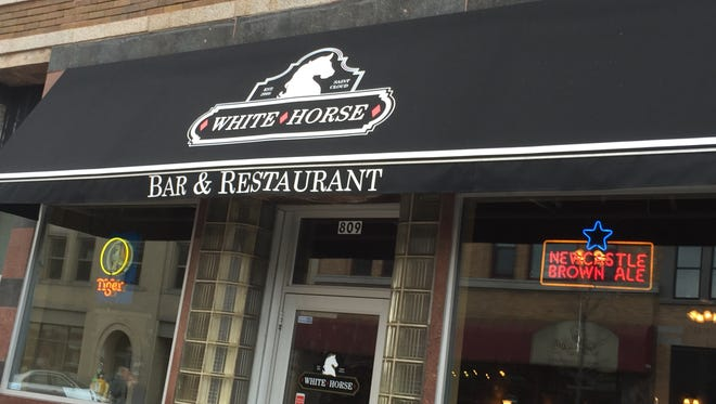 The White Horse in St. Cloud.