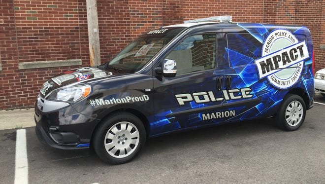 "The ""MPACT-Mobile"" will be used by the Marion Police Department for community outreach."