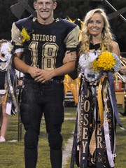 Hayden Frierson and Josey Graham were named the 2016 Homecoming king and Queen Oct. 2.