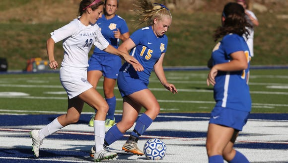 Haldane defeated North Salem 3-1 in a girls soccer