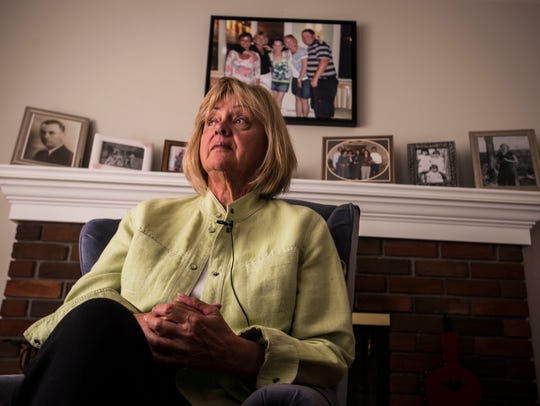 Mary Lomas of Essex talks about her daughter, Jen Butts,