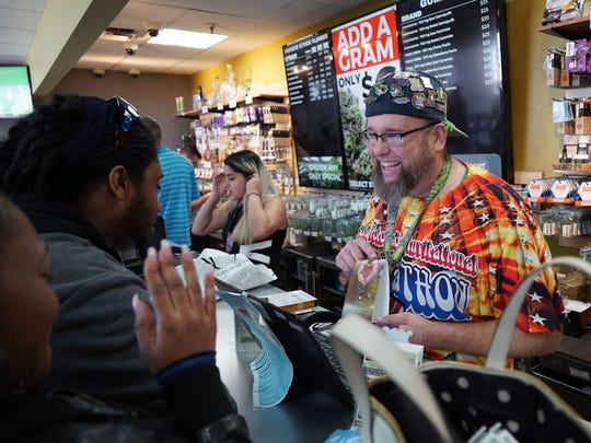 'Budtender' Jason Coleman describes the effects of