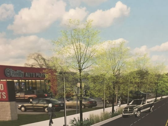 A rendering of what University at Cameron Street could