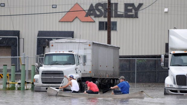 The Wisconsin Economic Development Corp. board approved a $6 million tax credit for Ashley Furniture, conditioned only on the company retaining half of its current employment levels. The money would help relocate part of a creek, which flooded the Ashley property and the nearby village of Arcadia in 2010.