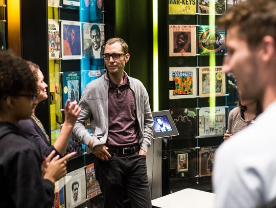 Executive Director Jeff Kollath at the Stax Museum