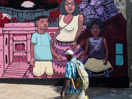 Memphis Mural