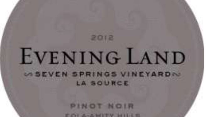 Evening Land Vineyard's 2012 La Source Pinot Noir was named the world's third best wine by Wine Spectator