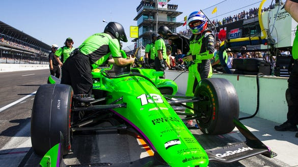 USP INDYCAR: 102ND RUNNING OF THE INDIANAPOLIS 500 S IND USA IN