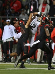R.J. Shelton's 29-yard catch on third-and-9 late in a tie game against Rutgers might have kept MSU from defeat.