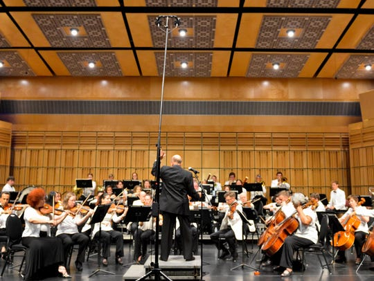The Endless Mountain Music Festival's 62-member orchestra