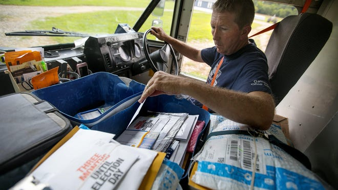 Michael Miller has been delivering the same rural USPS mail route in Gallia County, Ohio, for the past 30 years. Some of his route consists of dirt and gravel roads for over a mile jut to deliver to two houses. Mail carriers are in many ways a lifeline to their rural communities. They don't just deliver letters and magazines, but also lifesaving medicines and packages from Amazon and FedEx that wouldn't otherwise make it.