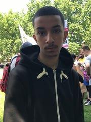 Mohamed At-tu in London on June 21, 2017. He lives