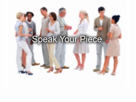#stockphoto - speak your piece