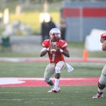 Quarterback Raleigh Yeldell leads Newberry College into Florida Tech Panthers Stadium Saturday night.