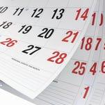 Calendar Pages