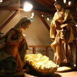 A small baby Jesus statue was found to be missing Christmas morning from a manger at Our Lady of Mount Carmel church in White Plains.