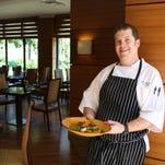 TusCA Ristorante Chef Ross Kilkenny presents seared sea scallops