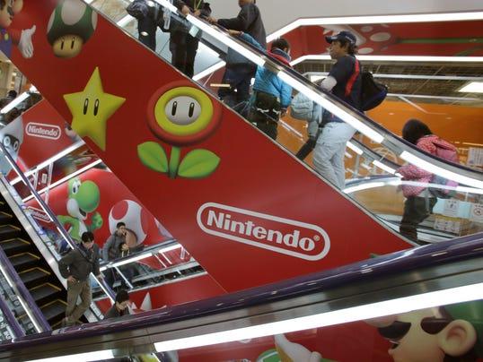 AP Japan Earns Nintendo