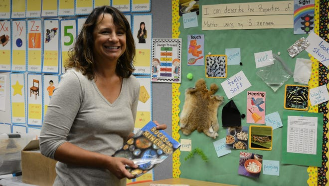Deborah Gordon, a second grade teacher in Palm Springs Unified School District, has spent the past two years emphasizing hands-on learning in science and engineering subjects as part of the Next Generation Science Standards.