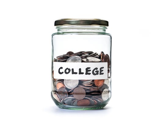 College savings coin jar