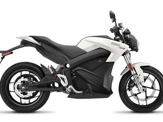 Zero offers several models, for street riding, off-road, dual sport or supermoto. The sporty top-end street-model SR that we tested sells for a base price of $16,495. CREDIT: Zero Motorcycles
