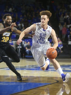 MTSU loses to Virginia Commonwealth during the MTSU home game 62-56, on Wednesday, Dec. 2, 2015.