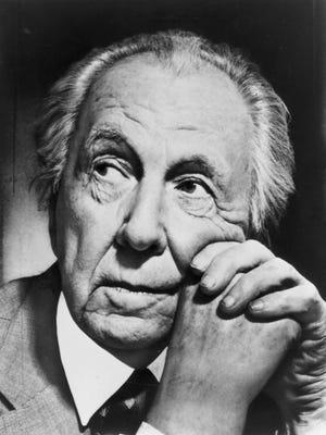 Architect Frank Lloyd Wright