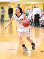 Dresden's Millie Bryant and the Lady Lions are ranked No. 4 in Class A this week.
