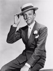 Dancer-actor Fred Astaire is shown in this 1935 file