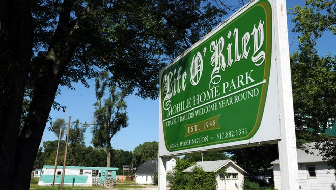 The Life O' Riley Mobile Home Park & Campground on South Washington Avenue was shut down six months ago.