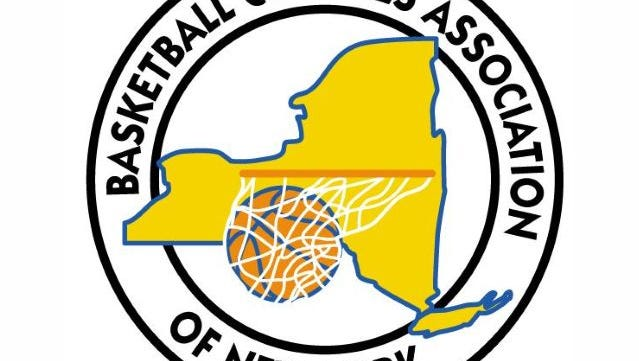 Basketball Coaches Association of New York logo.